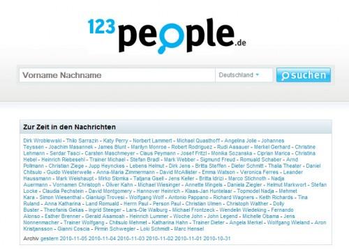123People Suche