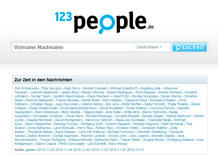 123People Suche