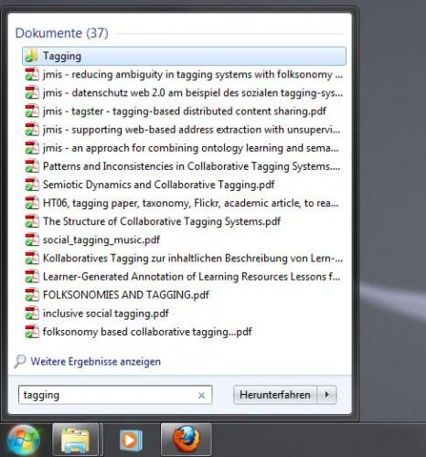Windows Suche