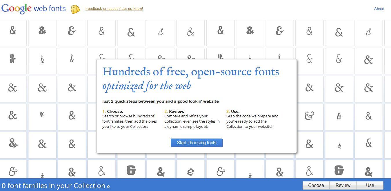 Schriften kostenlos mit google webfonts einbetten for Digitale weihnachtskarten kostenlos