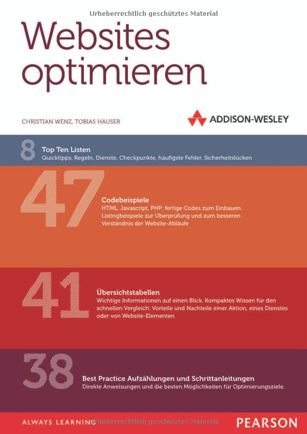Websites optimieren Cover