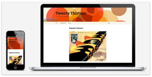 WordPress 3.6 Theme Twenty Thirteen