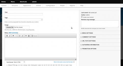 Drupal 8 Content Editor