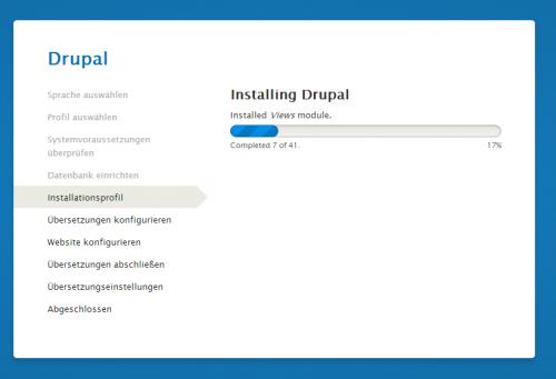Drupal 8 Installer