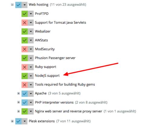 Plesk Installer node