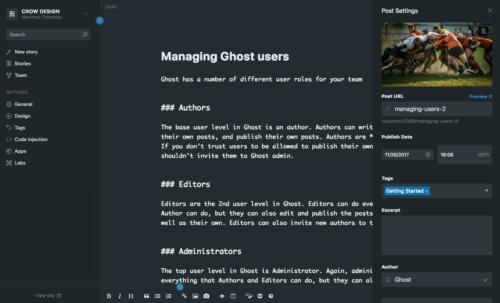 Ghost Editor