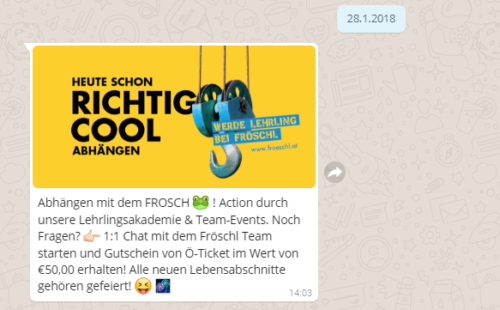 Multimedia im Chatbot