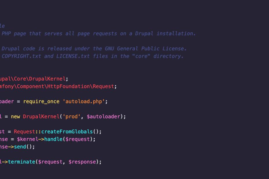 Drupal Code